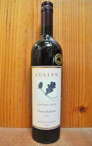 カレン・ダイアナ・マデリン[2011]年・マーガレット・リヴァー・カレン・ワインズ・(オーストラリアのビオディナミの先駆者)・造り手の最高峰赤ワインCULLEN Diana Madeline [2011] Margaret River Cullen Wines
