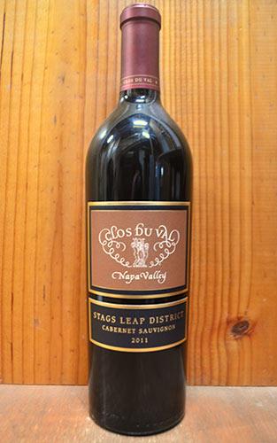 クロ デュ ヴァル エステート シリーズ スタッグスリープ ディストリクト カベルネ ソーヴィニヨン 2011 (クロ・デュ・ヴァル) 正規 赤ワイン 辛口 フルボディ 750ml アメリカ カリフォルニア