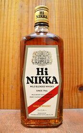 【正規品】ニッカ・ハイニッカ・マイルド・ブレンデッド・ウイスキー・ニッカウイスキ・ジャパニーズ・ウイスキー・720ml・39%NIKKA HI NIKKA MALT BLENDED WHISKY NIKKA WHISKY JAPANESE WHISKY 720 39%