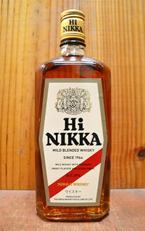 ニッカ 하이 ニッカ/마일드/ブレンデッド/위스키/ニッカ 우 스키/일본/위스키/720ml/39% NIKKA HI NIKKA MALT WHISKY BLENDED WHISKY NIKKA JAPANESE WHISKY 720 39%