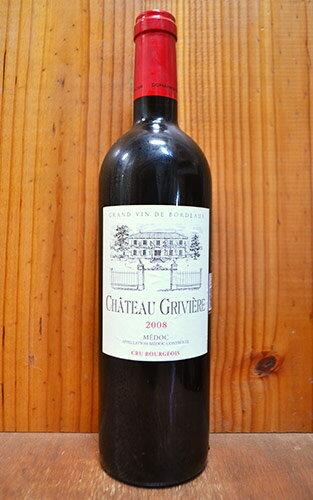 シャトー グリヴィエール 2009 AOCメドック クリュ ブルジョワ CGR社 赤ワイン ワイン 辛口 フルボディ 750mlChateau GRIVIERE [2009] AOC Medoc Cru Bourgeois