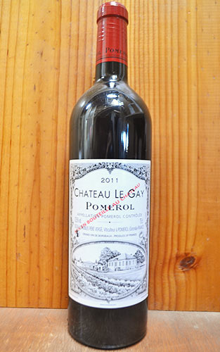 シャトー ル ゲ 2011 フランス ボルドー ポムロール AOCポムロール 赤ワイン ワイン 辛口 フルボディ 750mlChateau Le Gay [2011] AOC pomerol