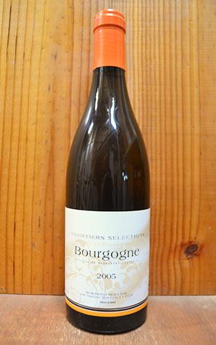 ブルゴーニュ ブラン 2005 ルー デュモン クルティエ セレクション 白ワイン 750ml ブルゴーニュブラン ルーデュモンBourgogne Blanc [2005] Lou Dumont Courtiers Selections