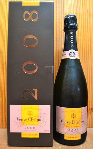ヴーヴ クリコ (ヴーヴ・クリコ) (ヴーヴクリコ) (ブーブクリコ) ロゼ 2008 正規 箱付 750ml シャンパン シャンパーニュVeuve Clicquot Ponsardin vintage Rose Brut [2008] Gift Box