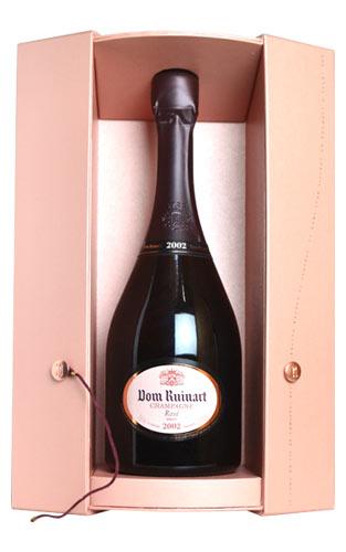 ドン ルイナール (リュイナール) ロゼ ブリュット ミレジム 2002 正規 豪華箱付 ギフト 750ml 泡 辛口 シャンパン シャンパーニュ 750mlDom Ruinart Champgagne Rose Millesime [2002] Champagne Ruinart AOC Champagne Rose Gift box