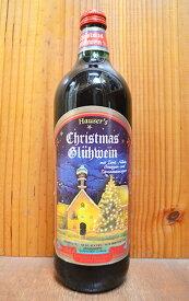 ホットワイン ハウザーズ グリューワイン クリスマスラベル 大型ボトル 赤ワイン 甘口 ミディアムボディ 1000ml (ハウザーズ・グリューワイン) ホット・ワインHauser's Gluhwein (Hot Wine) Christmas Label 1,000ml 9.9%