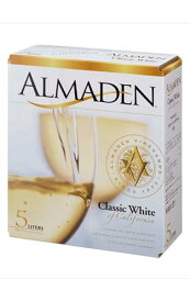 アルマデン クラシック ホワイト バッグ イン ボックス 白ワイン 5L 5000ml 11.5%ALMADEN Classic White 5L BIB 11.5%