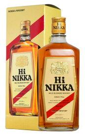 【箱付・正規品】ニッカ・ハイニッカ・マイルド・ブレンデッド・ウイスキー・ニッカウイスキ・ジャパニーズ・ウイスキー・720ml・39% ハードリカーNIKKA HI NIKKA MALT BLENDED WHISKY NIKKA WHISKY JAPANESE WHISKY 720 39%