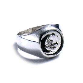 リング 指輪 狼 ウルフマンBRS シルバー925 アクセサリー メンズ ムーンウルフ 月 ムーン 狼 ウルフ 星 スター レディース ウィメンズ ウーマン 女性 9号 11号 13号 15号 ムーンウルフリング