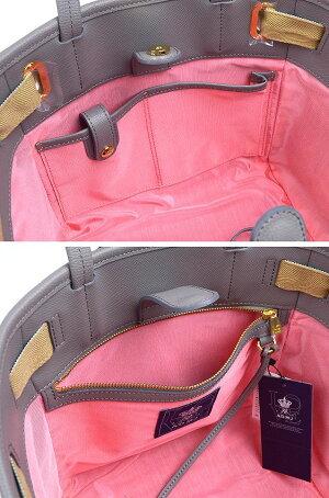 ADMJエーディーエムジェイダノビオバイカラートートバッグ23cm20AW01018