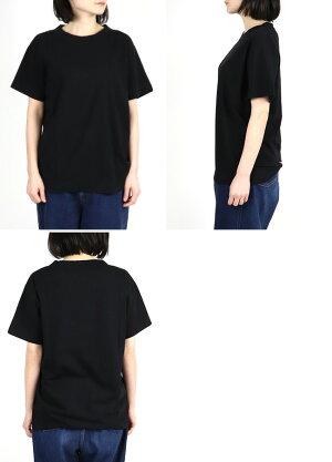 homspun(ホームスパン)天竺半袖TシャツS(レディースXLサイズ)M(メンズサイズ)6272