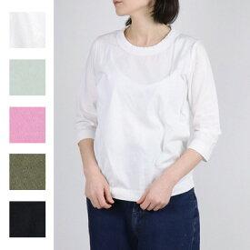【メール便全国送料無料】homspun(ホームスパン)天竺七分袖Tシャツ 6450