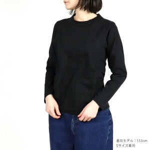 homspun(ホームスパン)30/1天竺長袖Tシャツ6616