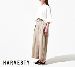 HARVESTY(ハーベスティ)ハイライズキュロットパンツA21903