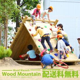【ボルダリング】 木製 ウッドマウンテン 無塗装 防腐加工処理済