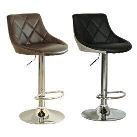 カウンターチェアー ブラック 黒 ブラウン モダン風 バーチェアー バースツール カウンタースツール 椅子 いす イス ハイタイプチェアー