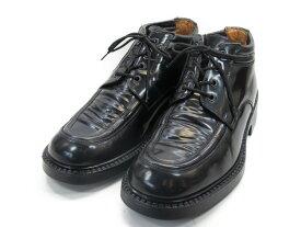 【中古】【送料無料】KENNETH COLE (ケネスコール)8 / (25.0cm〜25.5cm) イタリア製・ショートブーツメンズシューズ 紳士 靴 ビジネス カジュアル メンテナンス済