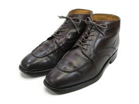 【中古】【送料無料】THIPA FOOTWEAR SELLECTION6.5 / (24.5cm〜25.0cm) イギリス製・ショートブーツメンズシューズ 紳士 靴 ビジネス カジュアル メンテナンス済