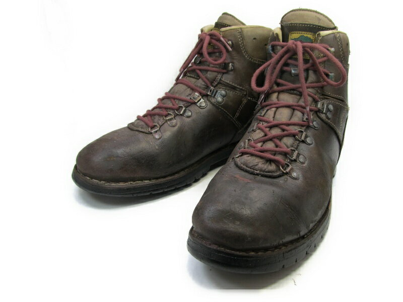 MEINDEL (マインドル)10.5 / (27.5cm〜28.0cm) マウンテンブーツ送料無料 メンズシューズ 紳士 靴 中古 ビジネス カジュアル メンテナンス済