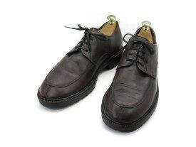 【中古】【送料無料】J.CREW (ジェイクルー)7.5 / (24.5cm〜25.0cm) イタリア製・Yチップメンズシューズ 紳士 靴 ビジネス カジュアル メンテナンス済