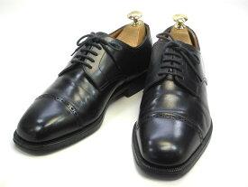 【中古】【送料無料】Arbiter (アービタ)6.5 / (24.5cm〜25.0cm) イタリア製・ストレートチップメンズシューズ 紳士 靴 ビジネス カジュアル メンテナンス済