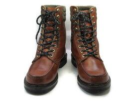 【中古】【送料無料】HONCHOS 7.5 E / (26.0cm〜26.5cm) 編上げワークブーツメンズシューズ 紳士 靴 ビジネス カジュアル メンテナンス済