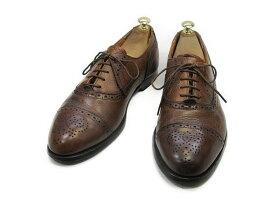 【中古】【送料無料】COLE・HAAN (コール・ハーン)95 / (27.0cm〜27.5cm) アメリカ製・ストレートチップ送料無料 メンズシューズ 紳士 靴 中古 ビジネス カジュアル メンテナンス済