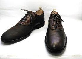 【中古】【送料無料】Johnston & Murphy (ジョンストン&マーフィー)10.5 M/ (27.5cm〜28.0cm) メンズシューズ 紳士 靴 ビジネス カジュアル メンテナンス済