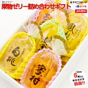 [ご進物用]果物ゼリー詰め合わせギフト 5つ入り 自由に選べる袋入りゼリー(さくらんぼ みかん 白桃など)【送料無料/…