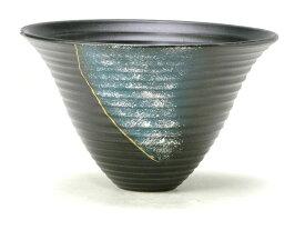 花器 嵐山228 剣山受付なし 信楽陶土使用 陶器 水盤 花瓶 フラワーベース