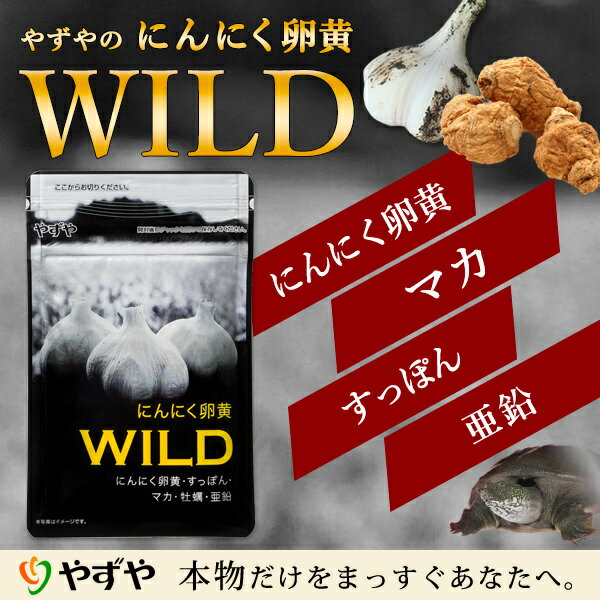 【やずや公式】 にんにく卵黄WILD 310mg球×62球入り すっぽん マカ 牡蠣 亜鉛