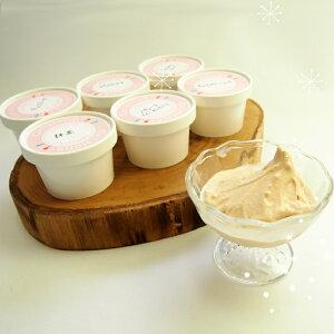 佐久間食品 ジェラテリアココ ジェラート6種セット地元新潟県産ミルクを使用したジェラート抹茶、キャラメル、ミルク、チョコレート、ピスタチオ、ヘーゼルナッツの6個セットプレゼン