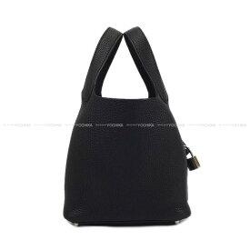 HERMES エルメス ハンドバッグ ピコタンロック 18 PM 黒(ブラック) トリヨン シルバー金具 新品(Hermes handbags Picotin Lock 18 PM Black )【あす楽対応】#よちか
