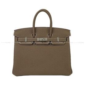 【ご褒美に★】HERMES エルメス ハンドバッグ バーキン25 エトープ (エトゥープ) トゴ シルバー金具 Z刻印 新品 (HERMES handbags Birkin 25 Etoupe Togo SHW[Brand New][Authentic])【あす楽対応】#yochika