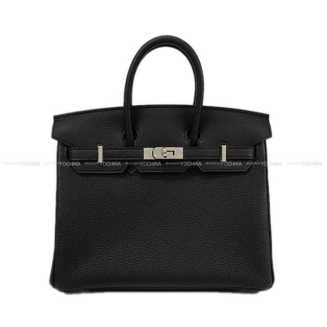 【冬のボーナスで!】HERMES エルメス ハンドバッグ バーキン25 黒(ブラック) トゴ シルバー金具 新品 (HERMES handbags Birkin 25 Black Togo Silver Hardware [Brand new][Authentic])【あす楽対応】#よちか