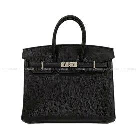 【キャッシュレスポイント還元★】HERMES エルメス ハンドバッグ バーキン25 黒(ブラック) トゴ シルバー金具 新品 (HERMES handbags Birkin 25 Black Togo Silver Hardware [Brand new][Authentic])【あす楽対応】#よちか