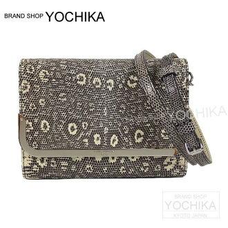"LOUIS VUITTON Louis Vuitton shoulder clutch bag loss more PM natural lizard N90358 new article (LOUIS VUITTON Shoulder clutch bag ""ROSSMORE"" PM Nature Lizard N90538)#yochika"