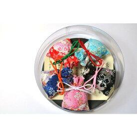 京ちりめん におい袋 5個入り 【香りの泉】