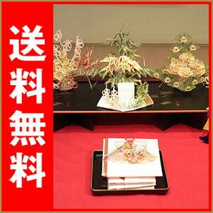 結納セット 結納 関西地方正式結納「凛華」7点福槌セット 【結納 結納セット 結納品 正式結納 西日本結納】