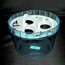 大和プラ販 ヒヤシンス水栽ポット 3球用 ブルー 水栽培