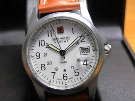 SWISS MILITARY スイスミリタリー 腕時計 ML2 メンズ 35mm レザー LEATHER! 文字盤カラー ホワイト 日本全国=北は北海道、南は沖縄まで送料580円でお届けけします