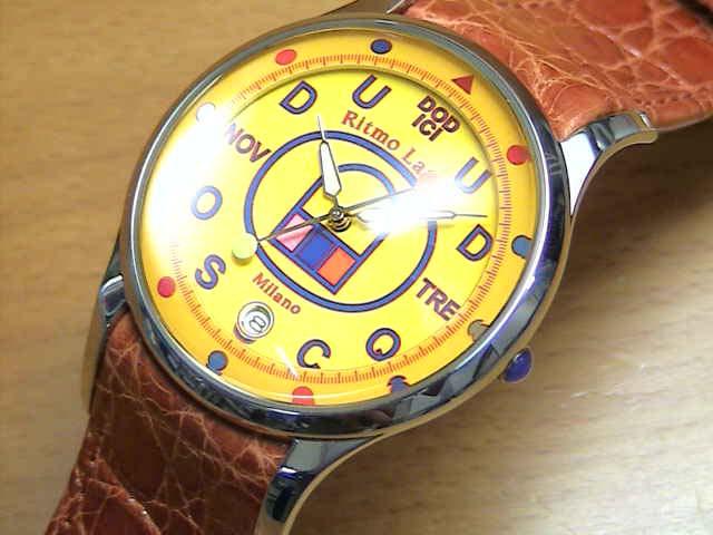 リトモラティーノ 腕時計 FINO(フィーノ) メンズサイズ、【文字盤カラー イエロー】レディースもあります  ★日本全国=北は北海道、南は沖縄まで送料0円 【送料無料】でお届けけします★