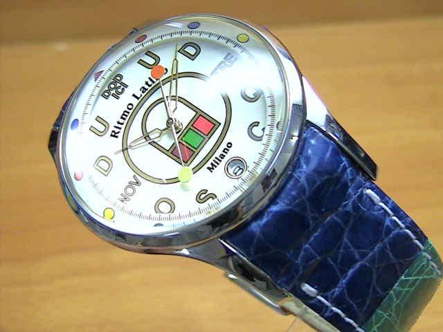 リトモラティーノ 腕時計 FINO (フィーノ) マルチカラーベルト  メンズサイズです。 レディースもあります 【文字盤カラー ホワイト】
