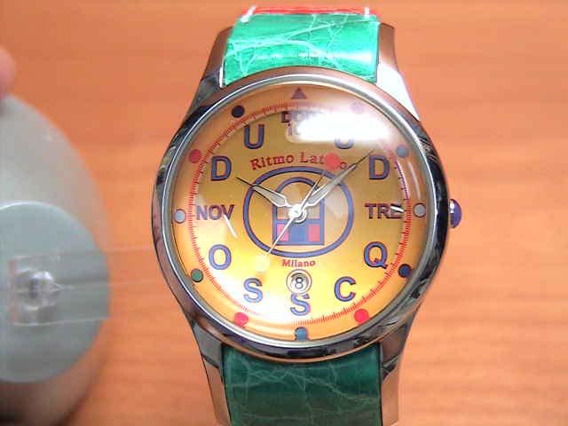 リトモラティーノ 腕時計 FINO (フィーノ) マルチカラーベルト レディースサイズです。【文字盤カラー イエロー】  メンズもあります ★日本全国=北は北海道、南は沖縄まで送料0円 【送料無料】でお届けけします★