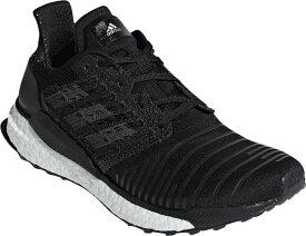 アディダス Adidas SOLAR BOOST W BC0674 コアBLK/GRYフォア リクジョウ シューズ