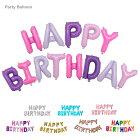 アルファベットバルーン HAPPY BIRTHDAY バルーン セット 風船 デコレーションバルーン バースデーバルーン お誕生日会 パーティーアイテム イベント 飾り アルファベットセット