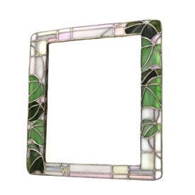 【送料無料】ウォールミラー 鏡 壁掛 おしゃれ ステンドグラス ステンドガラス 国産ミラー使用 上質 ガラス 壁掛け アンティーク インテリア 雑貨