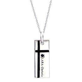ネックレス メンズ LARA Christie (ララクリスティー) ノーブル クロスネックレス[ BLACK Label ] シルバー ネックレス メンズ 誕生日プレゼント