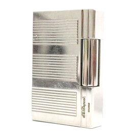 【中古】Dupont デュポン ギャッツビー ガスライター ライター ユニセックス シルバー メタル