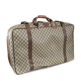 ef07e8a5272c 【中古】GUCCI グッチ トランクケース 旅行カバン オールドグッチ スーツケース ユニセックス ブラウン